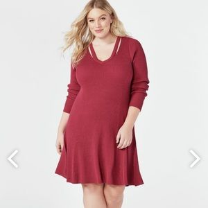 NWT Cutout fit and flare dress